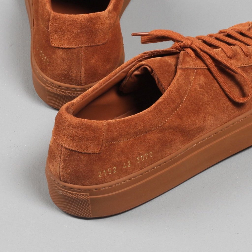 Common Projects Achilles Rust Suede