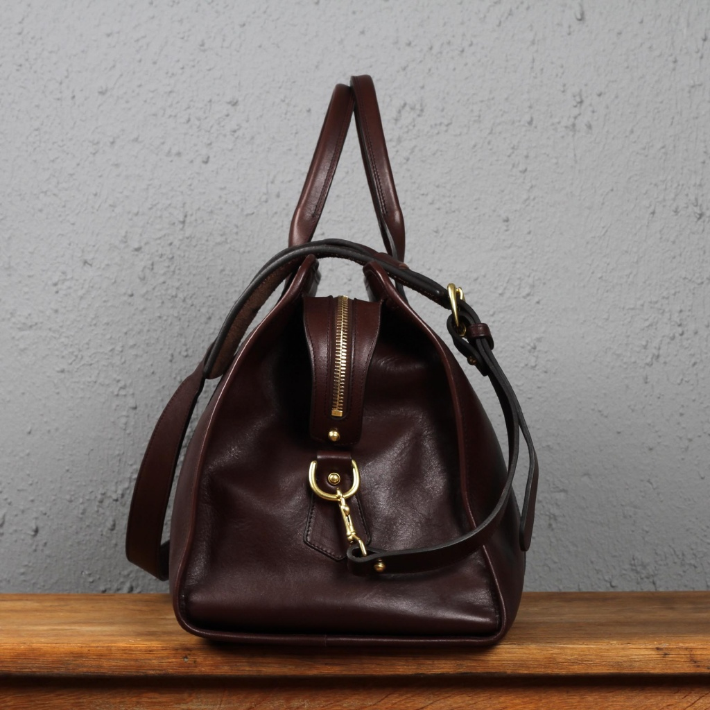 Frank Clegg Chocolate Signature Duffle