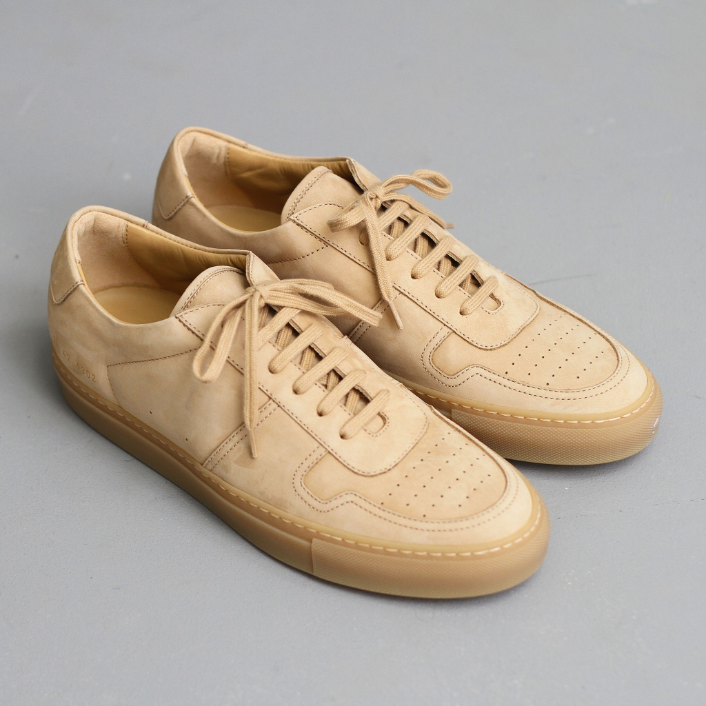 Common Projects BBall Nubuck Tan
