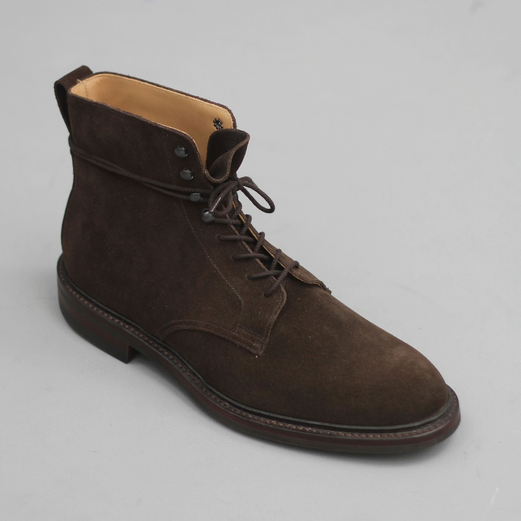 Crockett & Jones Eskdale Dark Brown Suede