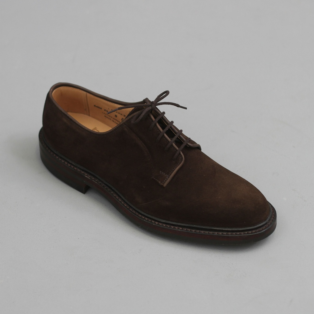 Crockett & Jones Lanark Dark Brown Suede