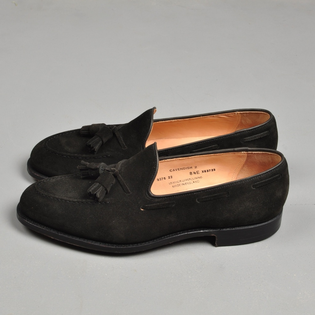 Crockett & Jones Cavendish Black Suede