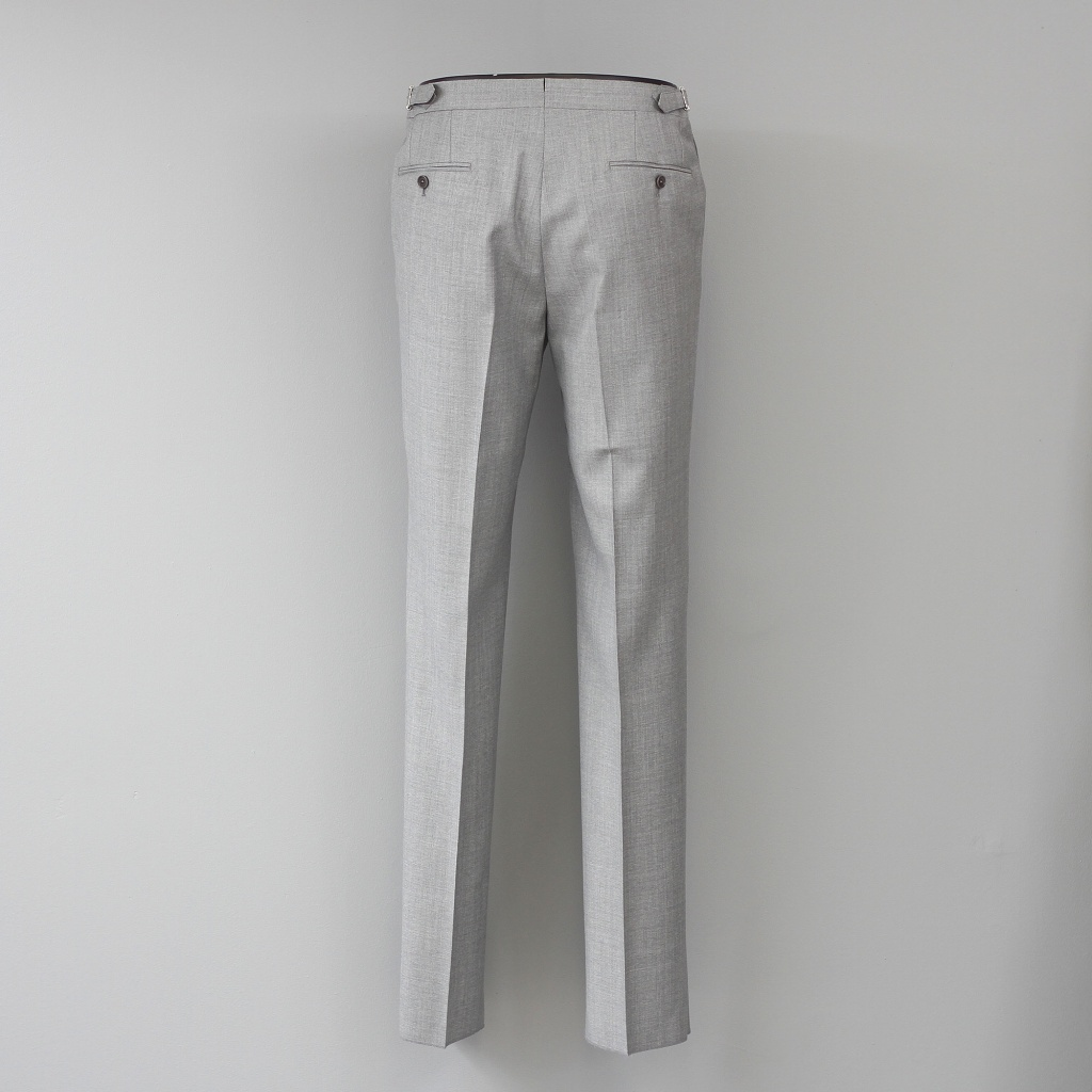 De Petrillo Trouser Light Grey Wool