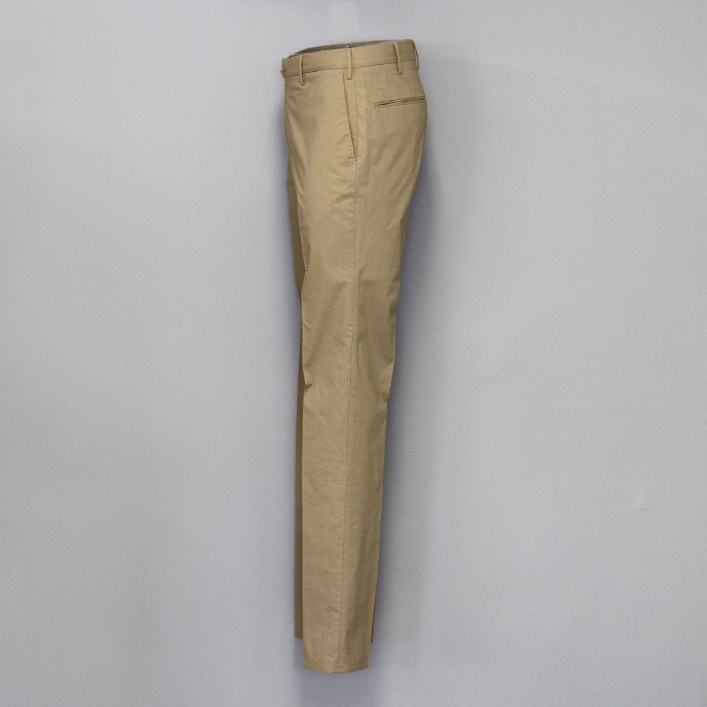 Incotex Classic Khaki Lightweight Slim Fit Trouser