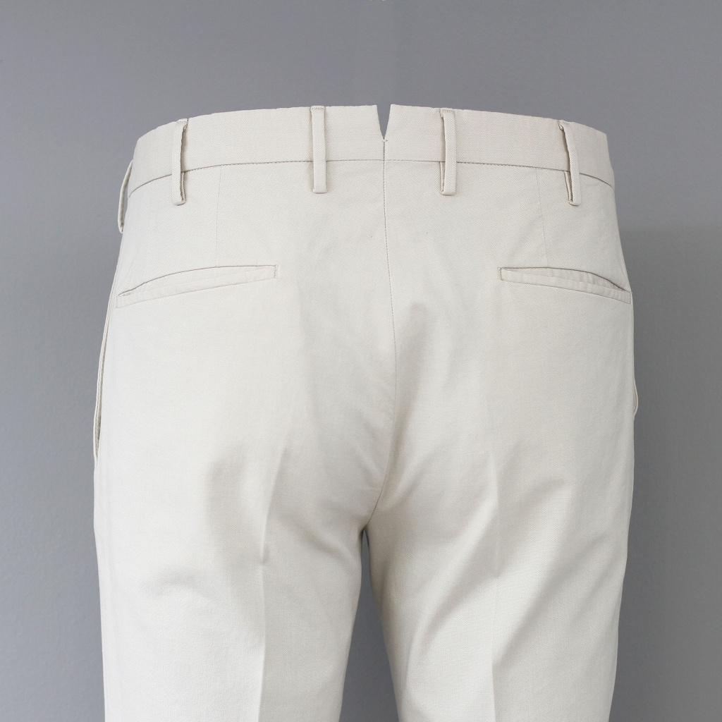Incotex Tight Fit Ice Cotton Beige