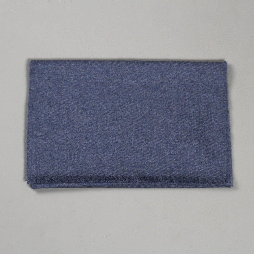 Johnstons Merino Scarf Denim