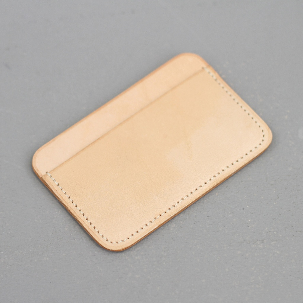 Laperruque Cardholder Natural Leather