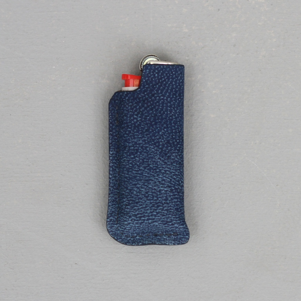 Laperruque Lighter Holder Blue Nubuck