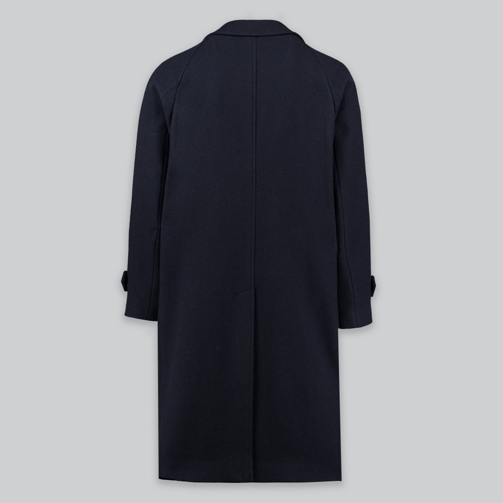 Ring Jacket Raglan Balloon Overcoat