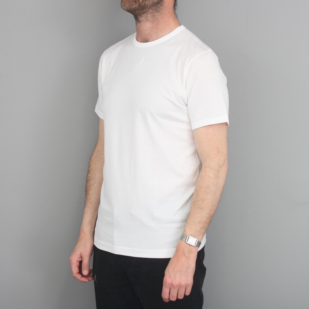 Sunspel Classic Cotton T-Shirt White