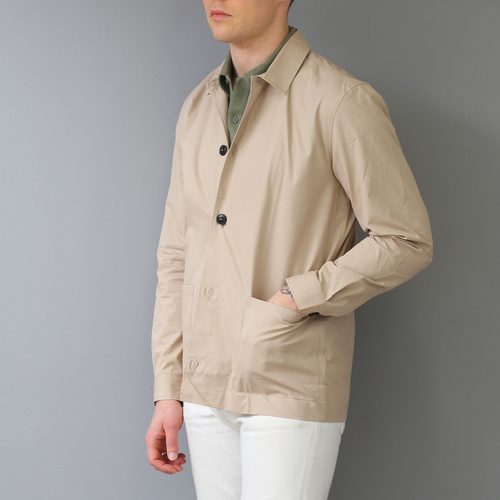 Sunspel Long Sleeve Shirt Jacket