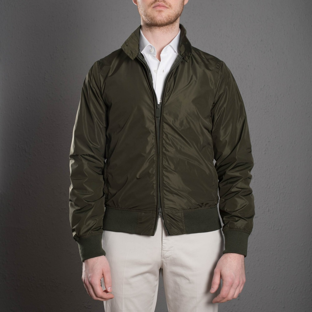 Aspesi Swing Jacket Green
