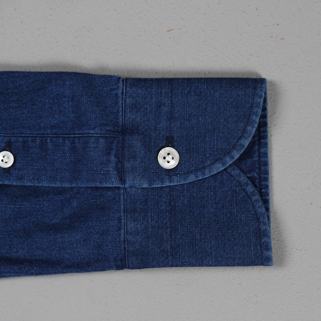 100 Hands Black Line Japanese Selvage Denim