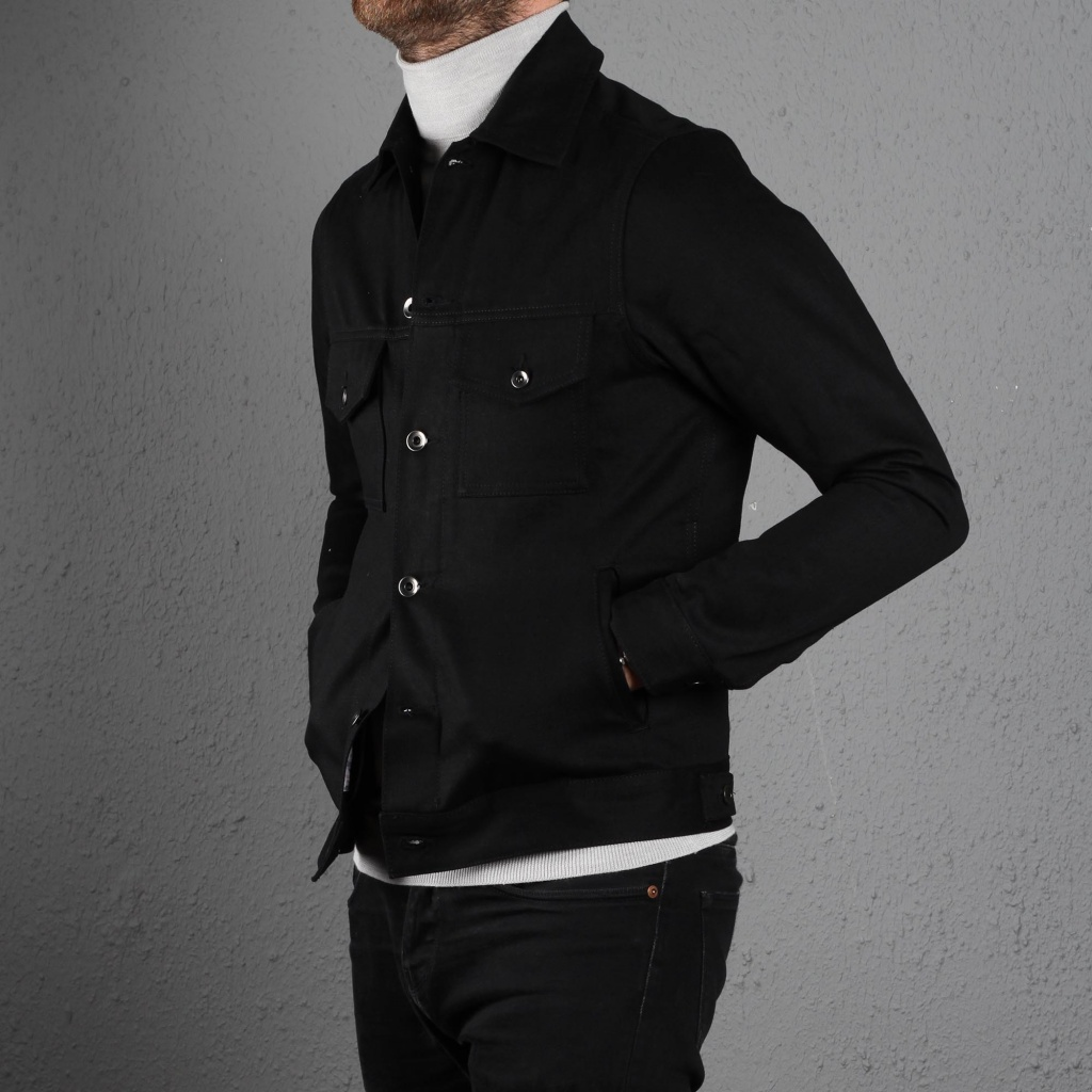 CoF Standard Jacket Black Selvage