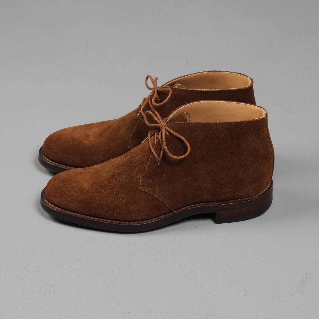 Crockett & Jones Chiltern Snuff Suede