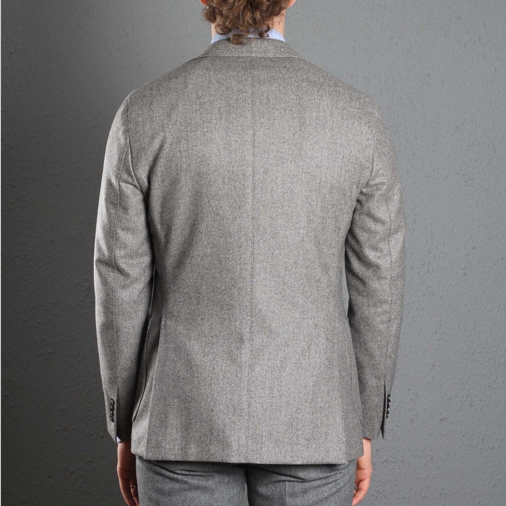 Boglioli K Jacket Beige-Grey Flannel