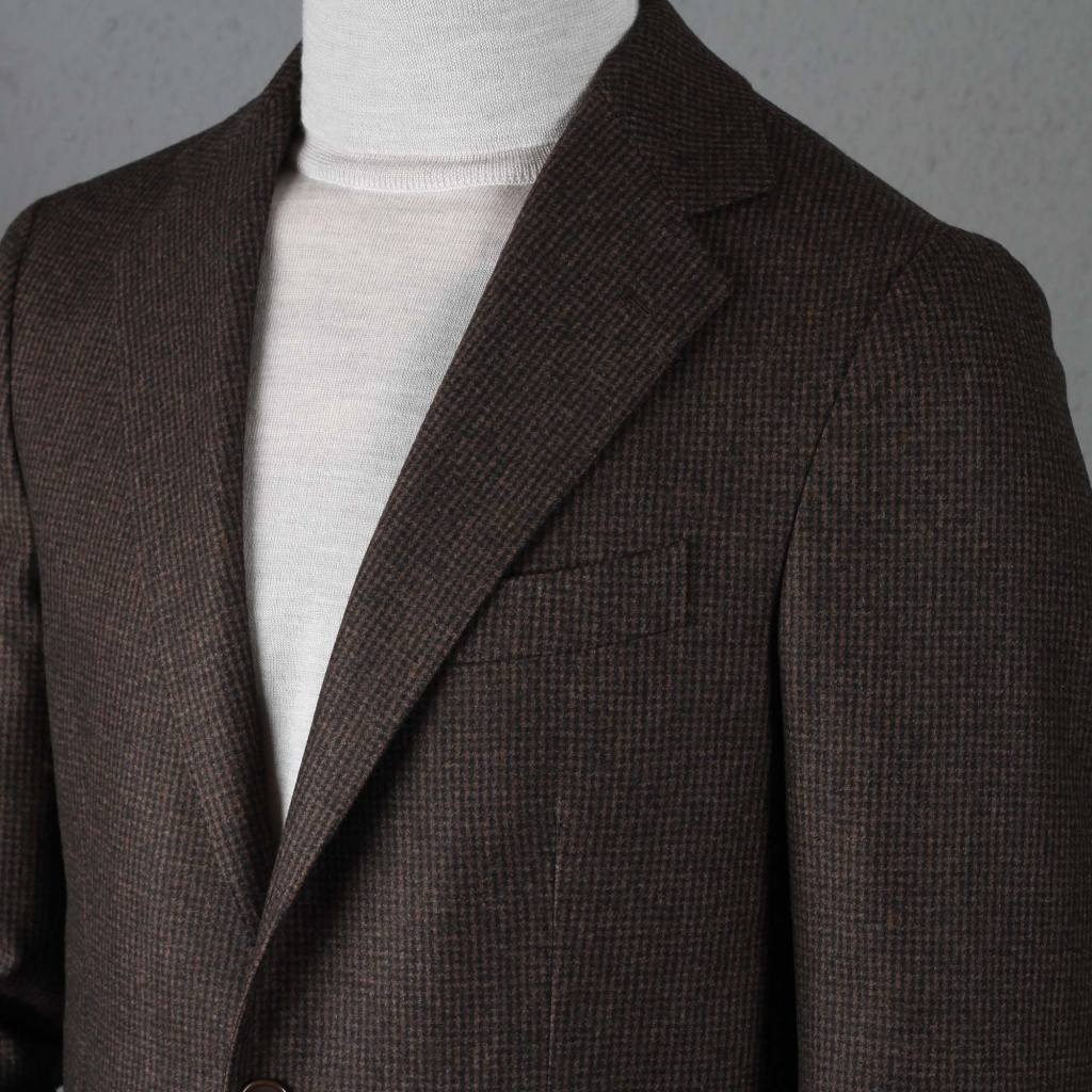 Gaiola Jacket Posillipo Brown Puppytooth