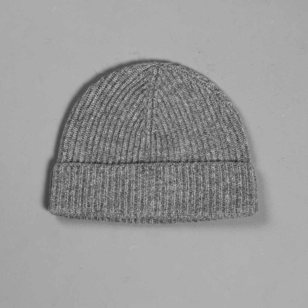 Johnstons Cashmere Hat Light Grey