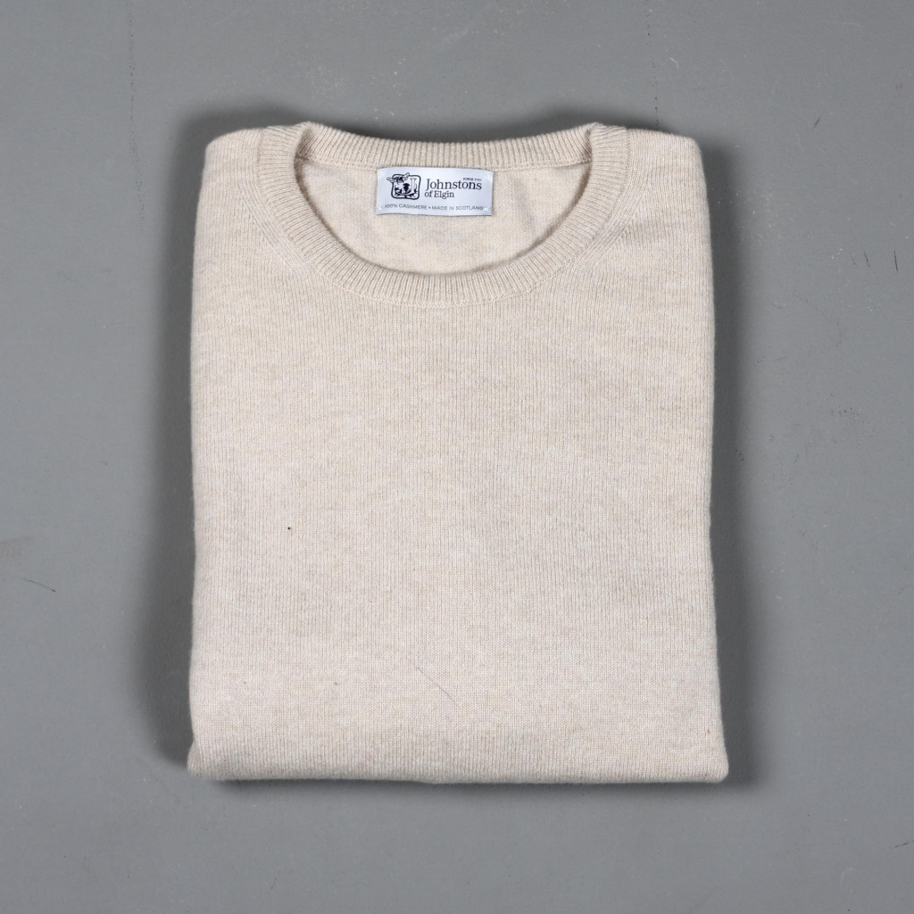 Johnstons Cashmere Sweater Swansdown