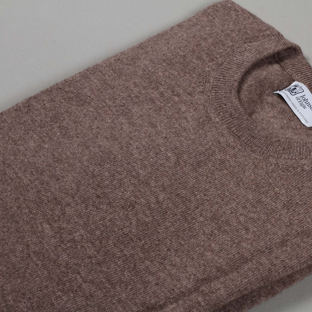Johnstons Cashmere Sweater Driftwood