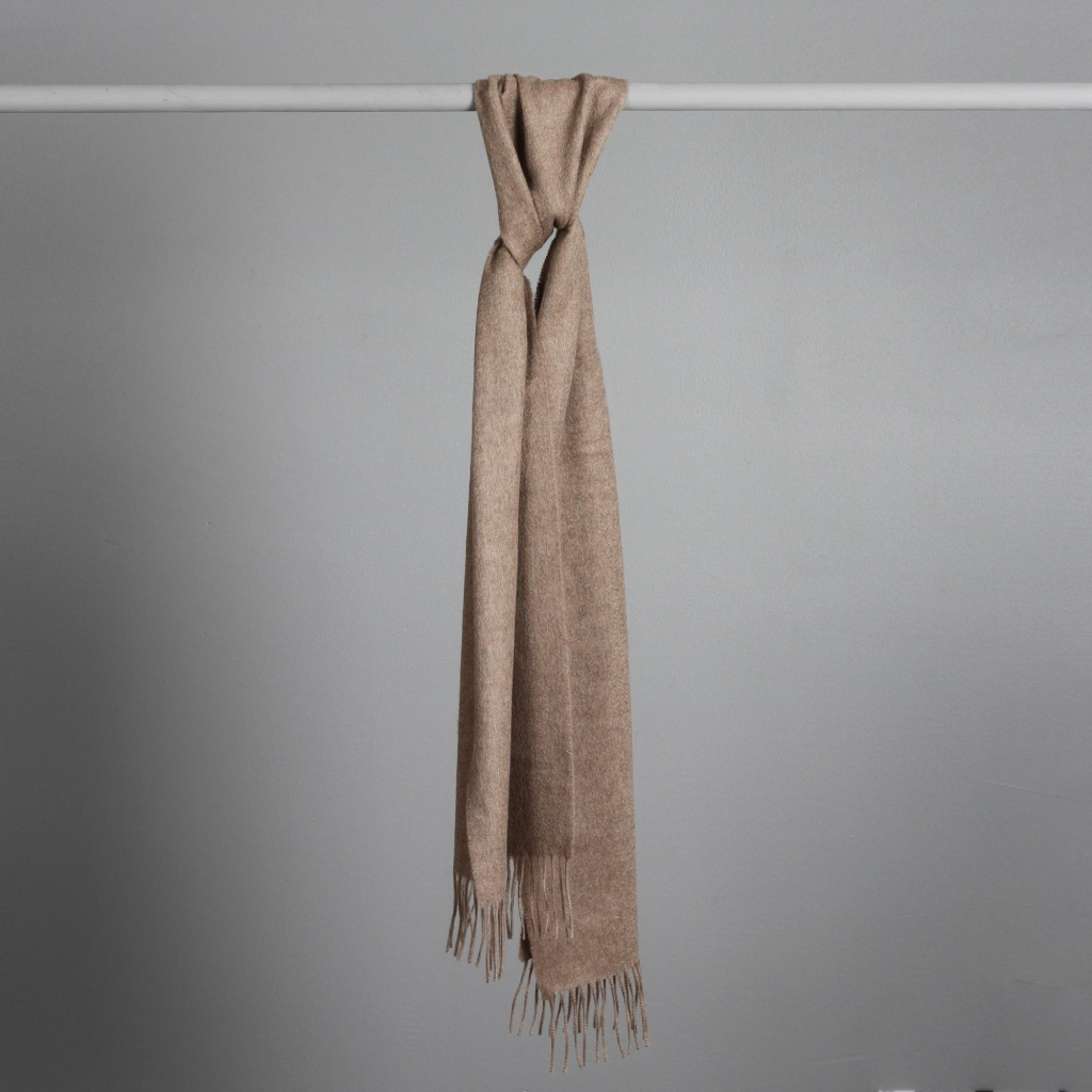 Johnstons Cashmere Scarf Otter