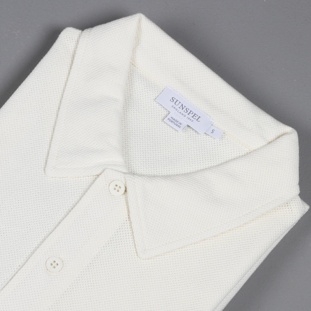 Sunspel Riviera Polo Archive White