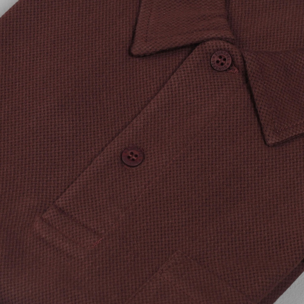 Sunspel Riviera Polo Mosto Brown