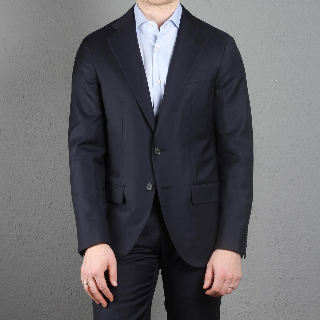 Caruso Suit Navy Blue Aida