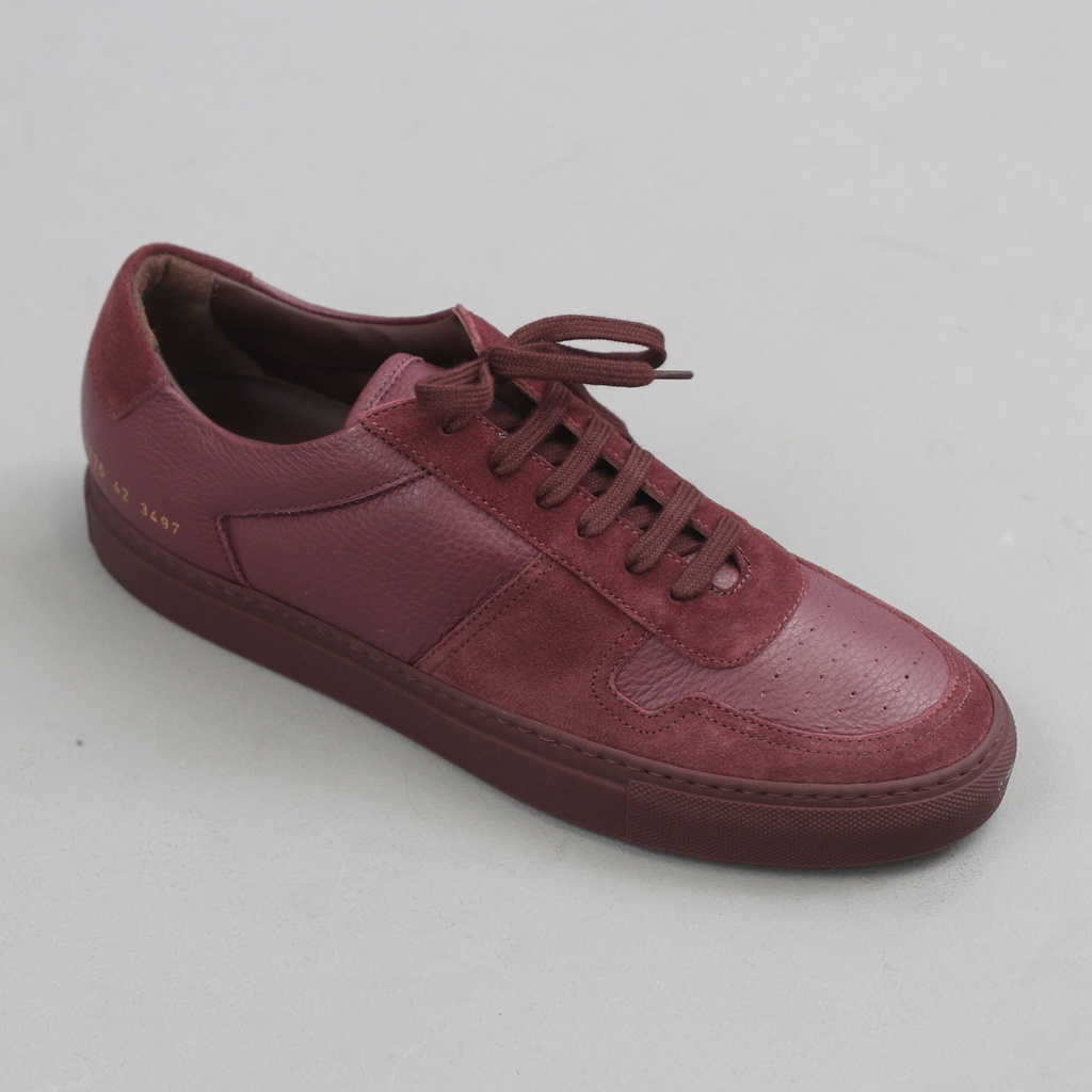 Common Projects BBall Premium Bordeaux