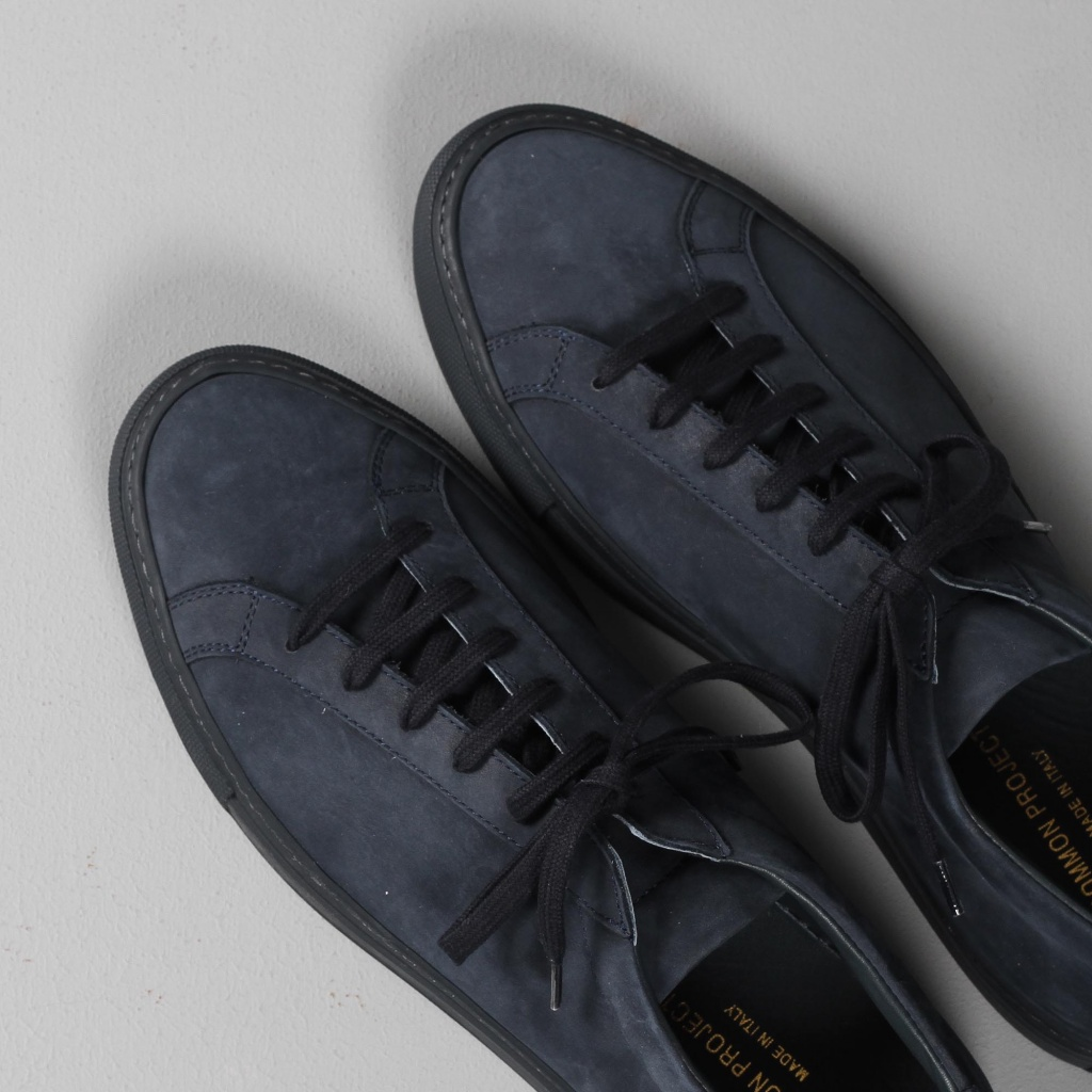 Common Projects Achilles Nubuck Navy