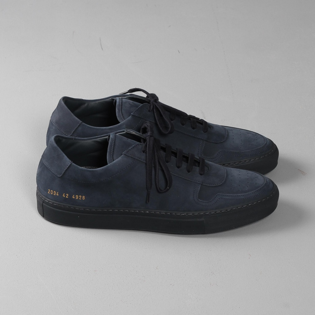 Common Projects BBall Nubuck Navy
