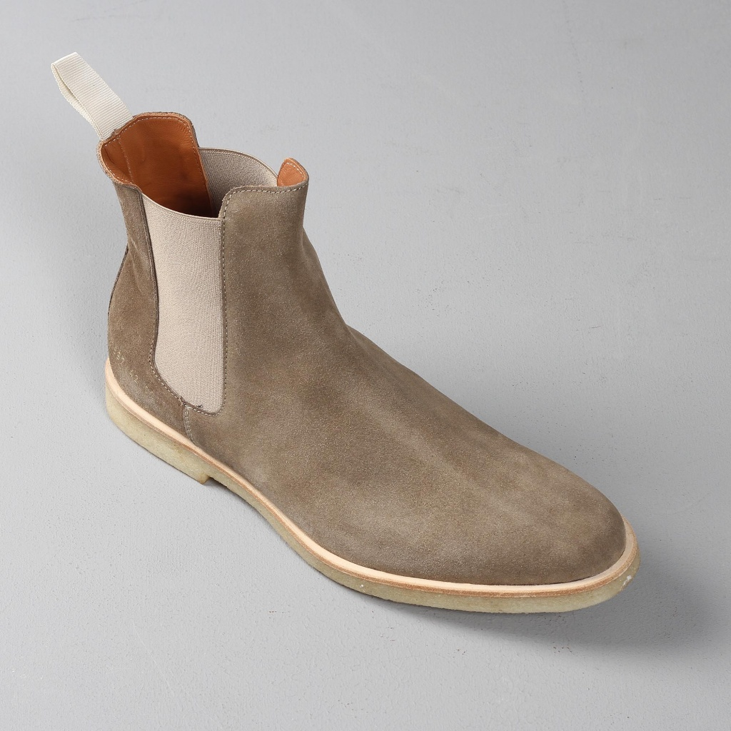 Common Projects Chelsea Suede Taupe