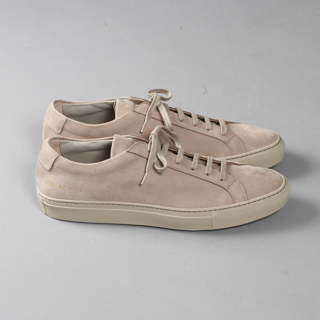 Common Projects Achilles nubuck offwhite