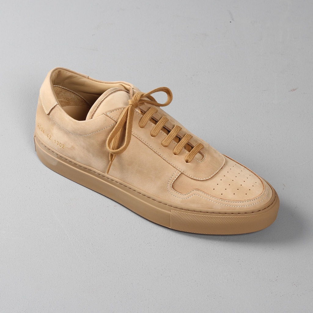 Common Projects BBall tan