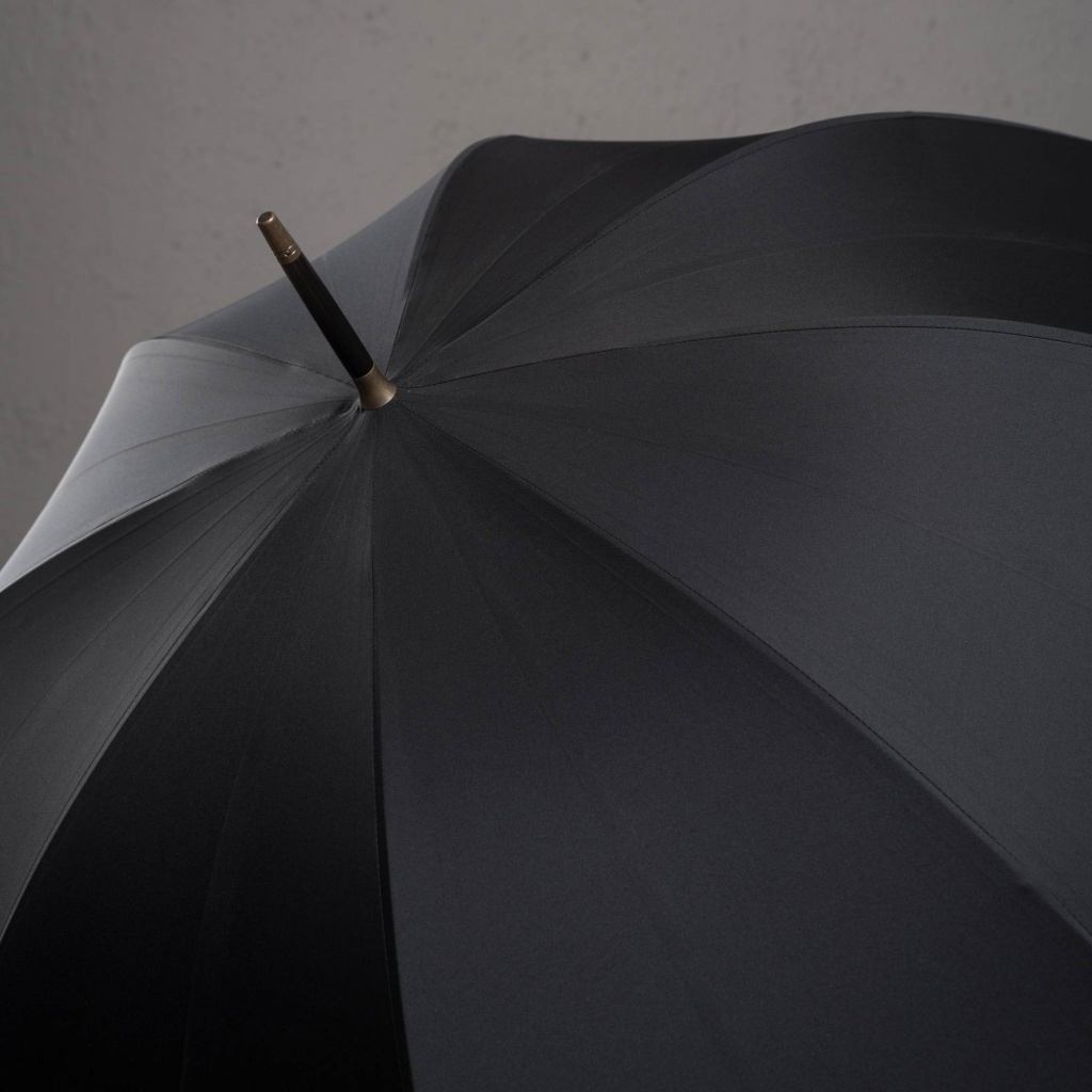 Fox Umbrella Black/Black Handle
