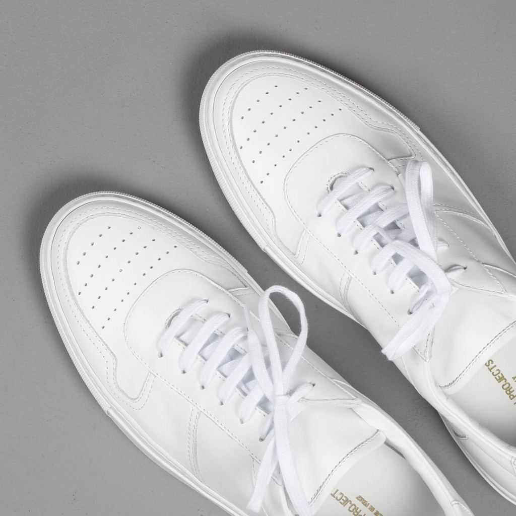 Common Projects BBall White Calf