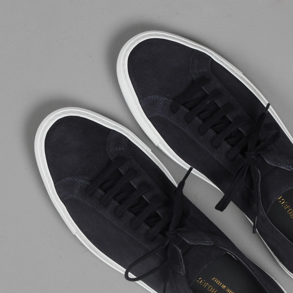 Common Projects Achilles Navy Suede