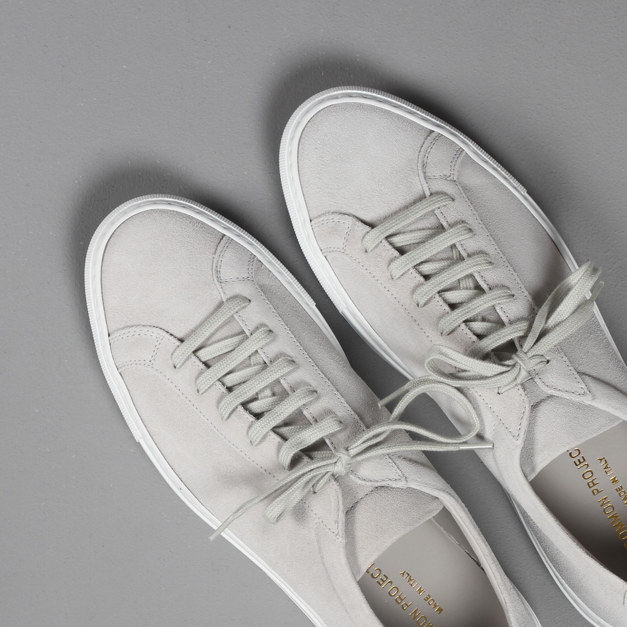 Common Projects Achilles Grey Suede