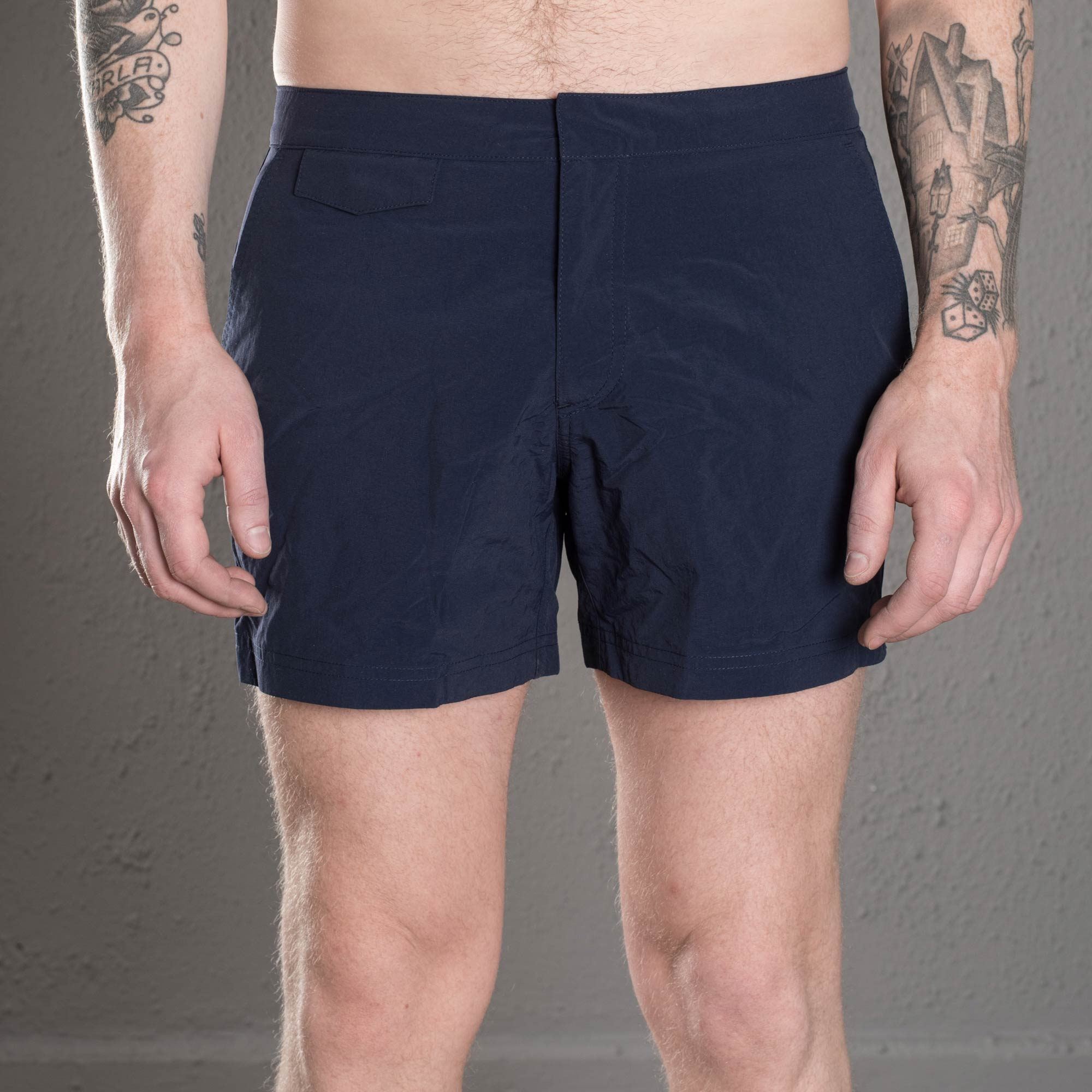 ccf9d3249f Sunspel Swim Trunk Navy