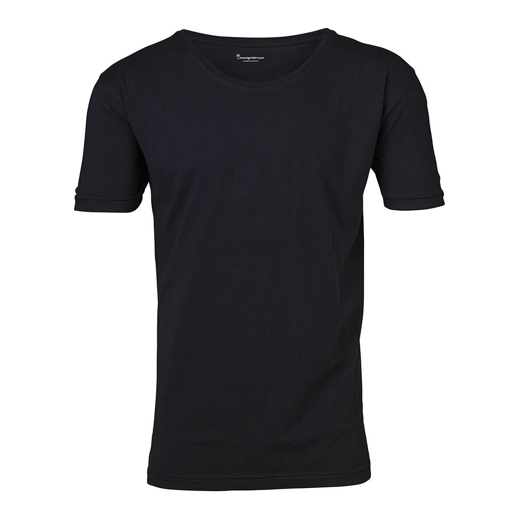Basic Regular Fit O-Neck Tee - Total Eclipse