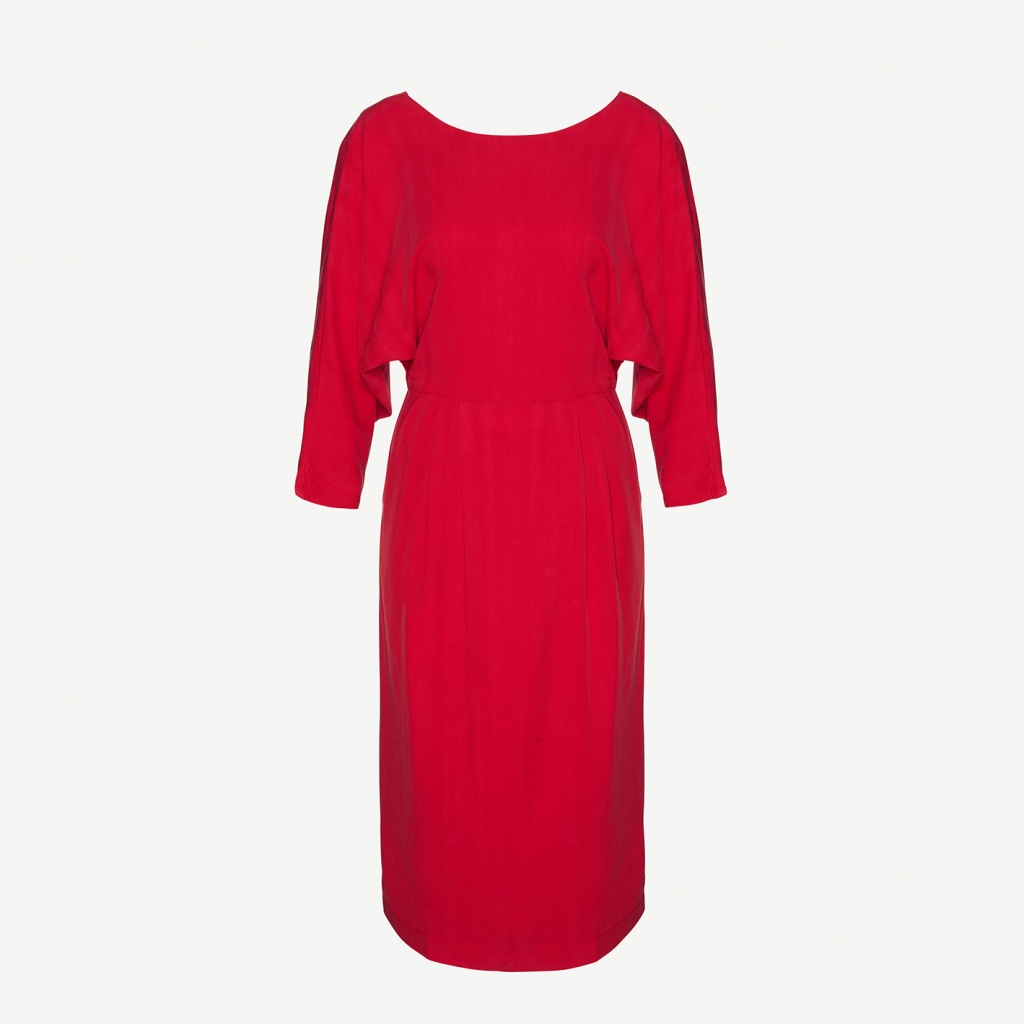 Darcy - Ribbon Red