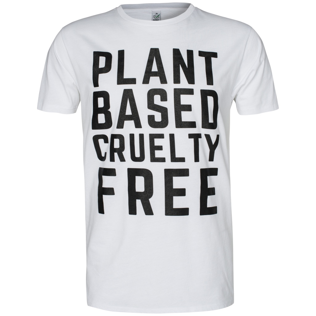 Plant Based Cruelty Free Masculine - White