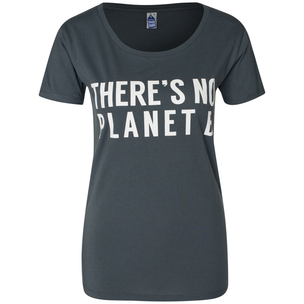 There's No Planet B Feminine - Charcoal