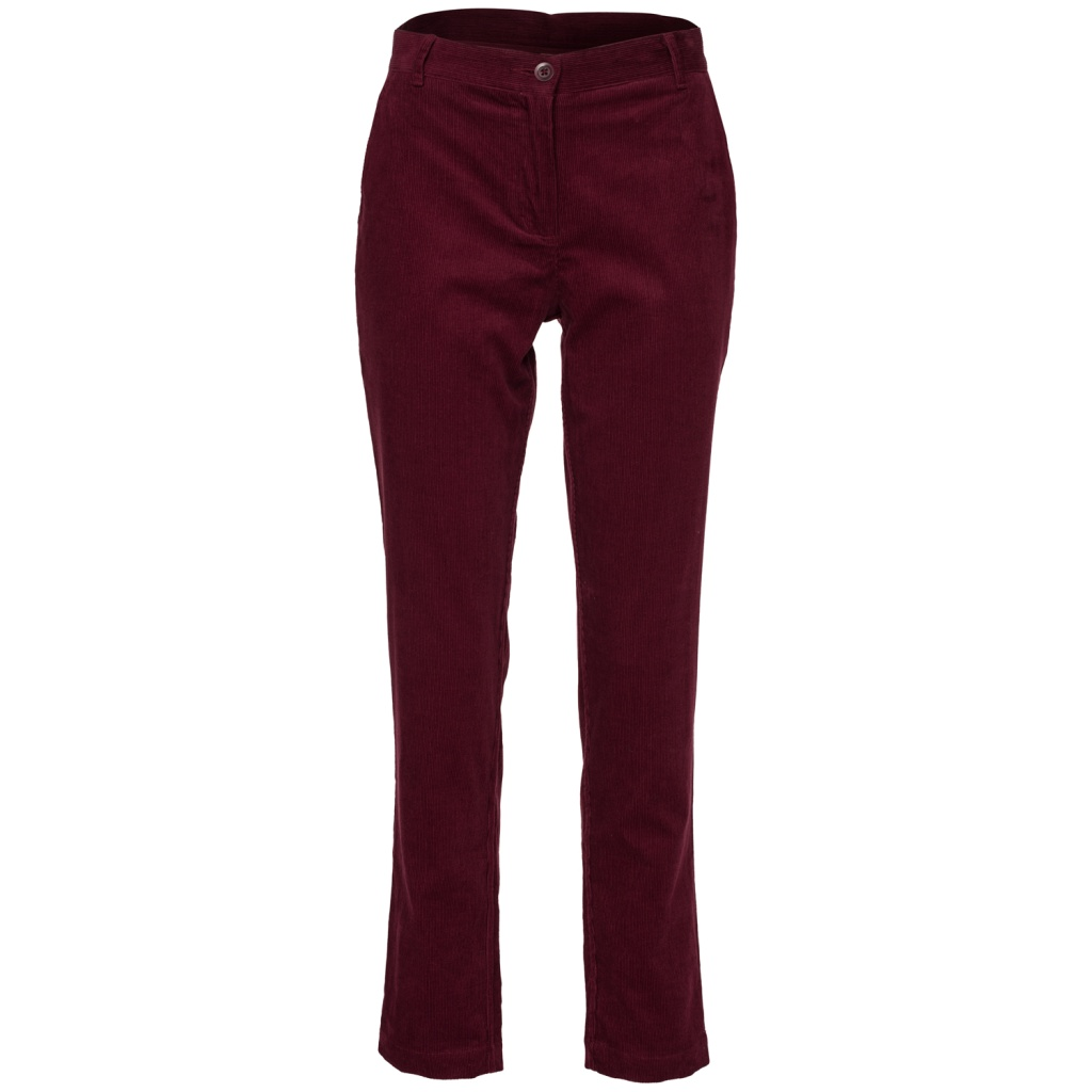 Kana Cord Trousers - Wine