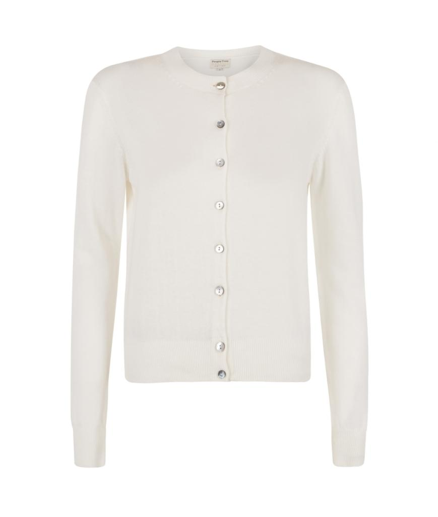 Catherine Cardigan - White