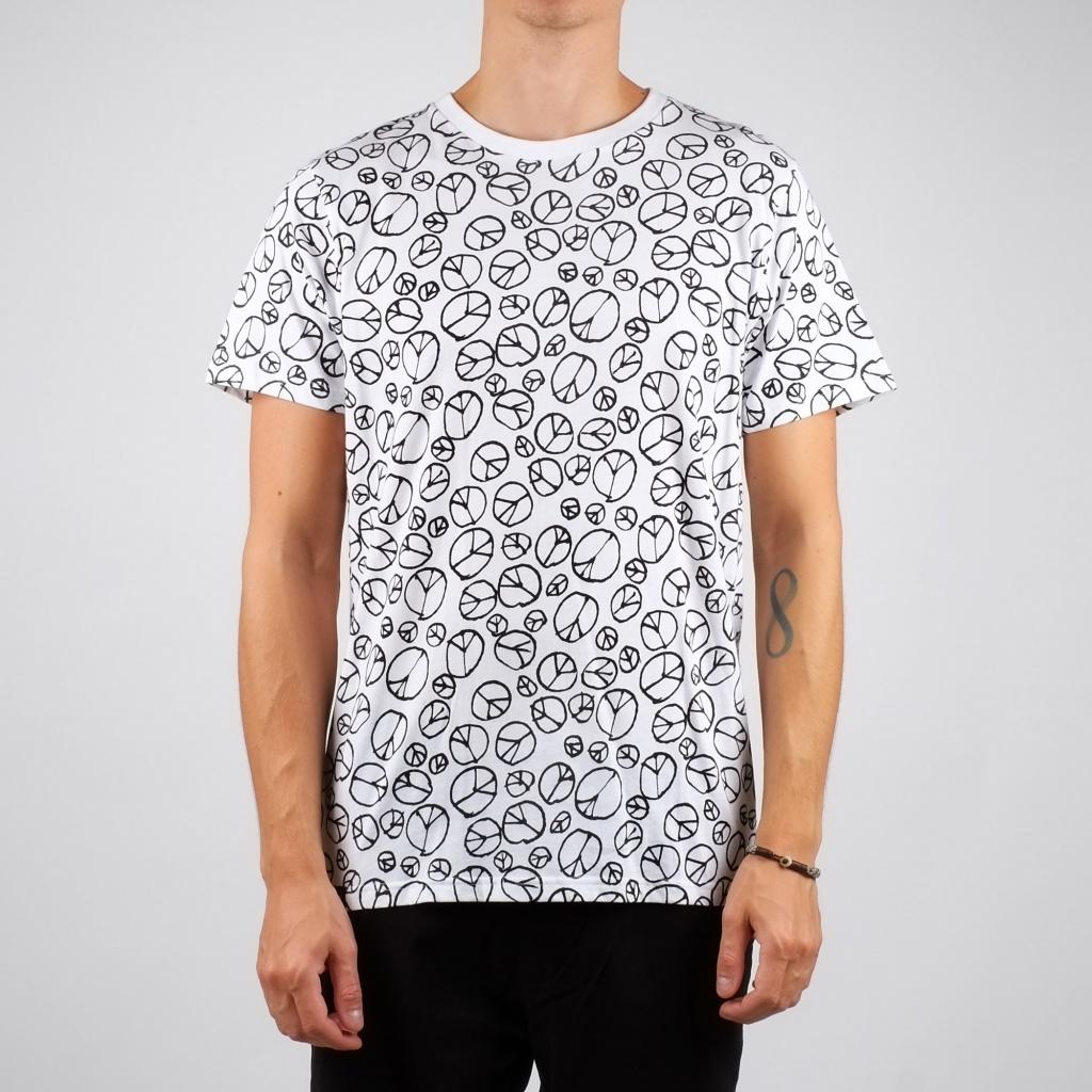 Peace Pattern - White