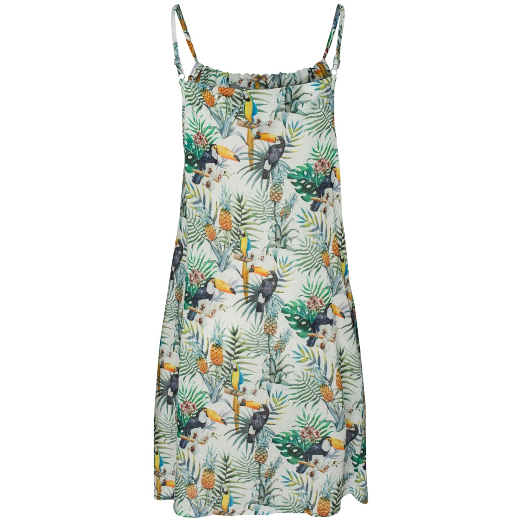 Amour Women Dress - Tropical Patern