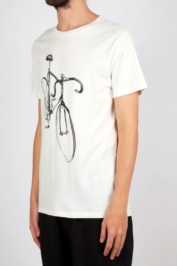 Stockholm Drawn Bike - Off White