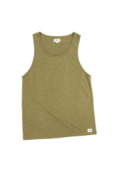 Hemp Tank  - Olive Green