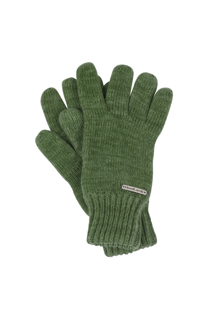 Knit Gloves - Olive